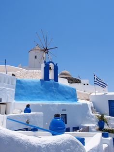 Travel Inspiration for Greece - Santorini Mykonos, Santorini Grecia, Santorini Island, Beautiful Islands, Beautiful Places, Places To Travel, Places To Visit, Greece Islands, Dubai Islands