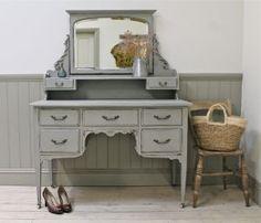 Distressed Vintage Dressing Table. - For Sale | Distressed But Not Forsaken