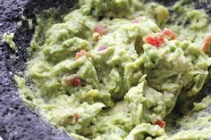 Homemade Fresh Guacamole...see even a fabulous video of Kris and Wesley (The Loon) showing you how easy it is!