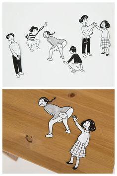 Nimura daisuke Information People Illustration, Illustration Sketches, Illustrations And Posters, Character Illustration, Graphic Illustration, Collage Drawing, Art Drawings, Graphic Design Posters, Graphic Art