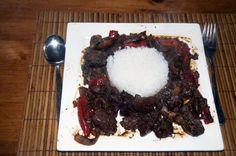 Pittige kippenlevertjes met rijst | Goed en gezond eten