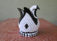 Hermoso cisne de Origami 3d sólo por usd 850 por CHOUCHOUGIFTS