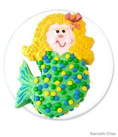 Mermaid Birthday Cak