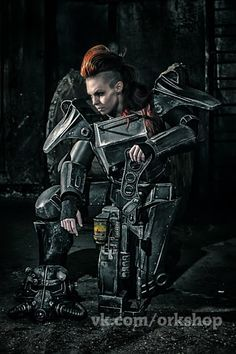 Brotherhood of steel T-45d (Fallout 3) cosplay by TheTass.deviantart.com on @DeviantArt