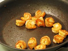 Easy Hibachi Shrimp: all you need is oil, shrimp, and soy sauce!
