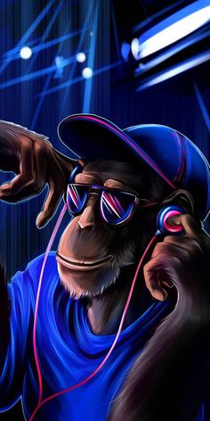 Dj Monkey wallpaper by 2YoungToDie - 59 - Free on ZEDGE™