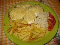 Süssünk, főzzünk valamit!: Kárpáti borzaska recept Grains, Rice, Meat, Chicken, Food, Essen, Meals, Seeds, Yemek