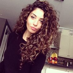 I wish my hair was this curly