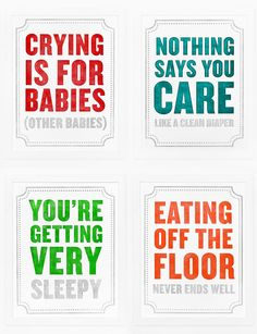 """The """"Subliminal Baby Series"""" from Sycamore Street Press makes me smile - $35.00"""