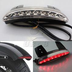 New Chopped Fender Edge LED Tail Light For Harley Davidson Sportster XL 883 1200 #Generic