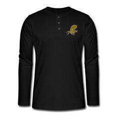 GOLD OCTOPUS - Camiseta panadera de manga larga Henley   BERLATO
