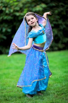 Jasmine Disney Princess Basic Costume by EllaDynae, $160.00