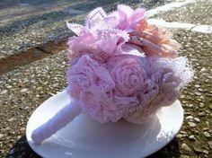 A fabric bouquet !