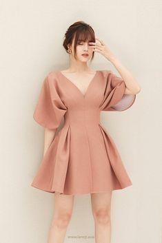 BELVA Pleated Dress - #BELVA #Dress #Pleated