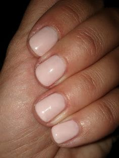Lipgloss Break: Gelish Gel Nail Polish (Pink Smoothie)