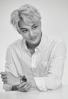 Kai ❤ love his smile exo