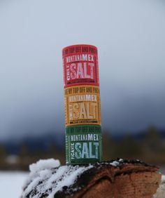 A bit of color!  The Montana Mex Sea Salt Trio :-)