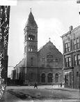 St. Bridget's Church in Bridgeport area, Chicago. Much Irish immigrant history. 1911