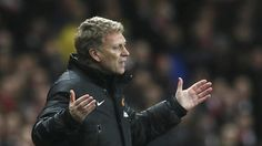 "In this Wednesday, Feb. 12, 2014 file photo Manchester United's manager David Moyes gestures to his team during their English Premier League soccer match between Arsenal and Manchester United at the Emirates stadium in London. Manchester United says manager David Moyes has left the Premier League club after less than a year in charge, amid heavy speculation he was about to be fired. United released a brief statement in its website Tuesday, saying the club ""would like to place on ..."