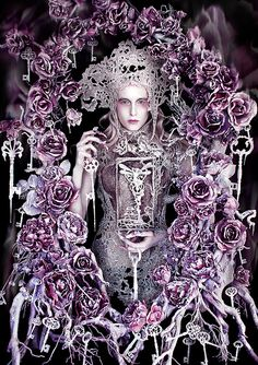 "Wonderland ""The Queen's Centurion"" by Kirsty Mitchell, via Flickr"
