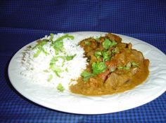 Indian Lamb Curry.