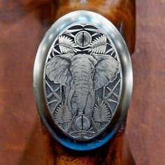 Blaser R8 Steel Grip Cap: Elephant  Blaser R8
