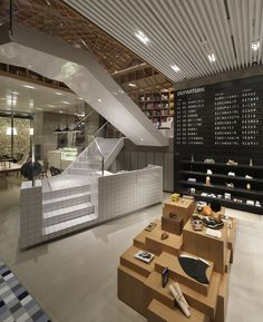 Hyundai Card Travel Library / Wonderwall idea mueble central
