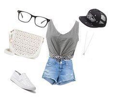 """""""Nerd Clothes"""" by rinadedvukaj ❤ liked on Polyvore featuring rag & bone/JEAN, Steve Madden, Under One Sky and Vans"""