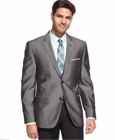 Shiny Silver Grey Groom Tuxedos Formal Bridegroom Groomsman Best Man Suits For Wedding And Party Two Buttons Classic Trim Jacket+Pant Mens Linen Suit Mens Summer Suits From Faithseller, $77.71| Dhgate.Com