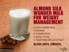 Almond Silk wonder milk for weight management