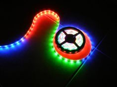 Lights for Glow Run - stretch it across the finish line? 12vdc Chasing LED Lighting Rope