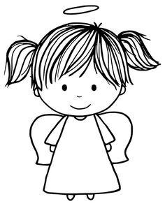 Jane's Doodles: Happy World Card Making Day!  Angel digi