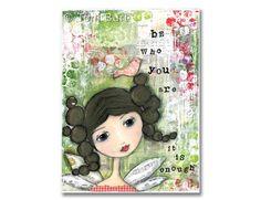 stampe d'arte di ragazze di affermazione di LePetiteBijouDesign