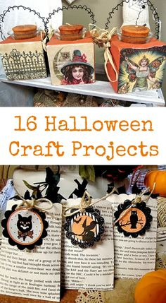 16 Halloween Craft Projects - The Graphics Fairy