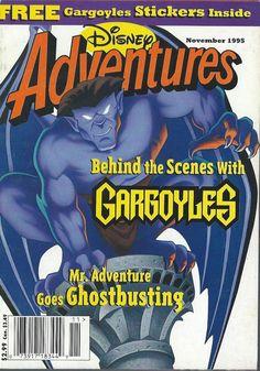 Disney Adventures Magazine November 1995 Gargoyles Solar Eclipse R.L. Stine