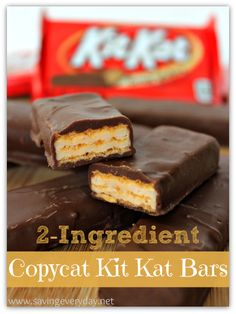2-Ingredient Copycat Kit Kat Bars Recipe