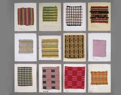 Dorothy Liebes, Textile Samples, 1948 - 1968
