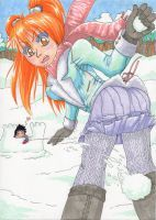 Winter fun by nanaya-chan English Drama, Themes Themes, Manga Illustration, My Character, Winter Fun, Gin, Sci Fi, Romance, Deviantart
