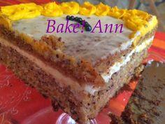 Ann: Répatorta mascarponekrémmel, ahogy a Nyuszi szeret. Ann, Baking, Desserts, Food, Bread Making, Meal, Patisserie, Backen, Deserts
