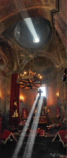 Worship, Ararat, Armenia.   Have always since I was a child that God is in those rays of sunlight!