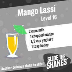 Another delicious shake to slide! #slidetheshakes