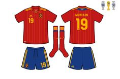 Spain National Football Team, Fifa Football, Football Fashion, Sports, Tops, Hs Sports, Sport