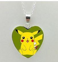 Pikachu pokemon necklace pendants