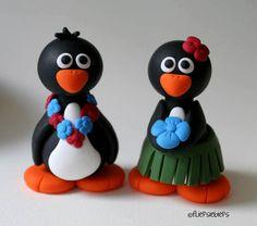 Hawaiian Penguin Couple by ~fliepsiebieps on deviantART