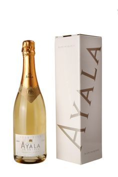 2004 Blanc de Blanc from Champagne Ayala, Champagne, France.   I was kicking back so much blanc de blancs brut champagne 2005 and cuvee perle D'ayala brut  nature champagne 2002