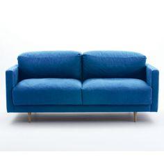 Blue sofa, like the colour