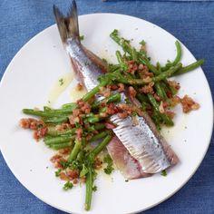 ESSEN & TRINKEN - Matjes mit Speckstippe Rezept