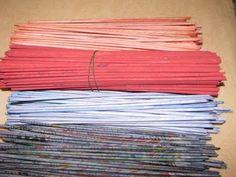 "http://pletenie-iz-gazet.net How to paint tubes from newspapers. Paper Basket. Канал ""Плетение из газет"" http://www.youtube.com/shishkina12 Сhannel ""WEAVING ..."