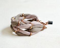 Un bracelet en jersey