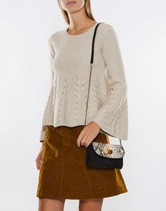 Peplum Knitted Sweater